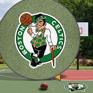 Boston Celtics Street Grip Outdoor Graphic